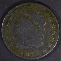 1811 CLASSIC HEAD LARGE CENT  VG/F