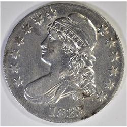1833 CAPPED BUST HALF DOLLAR  AU/BU