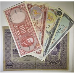FOREIGN CURRENCY LOT: