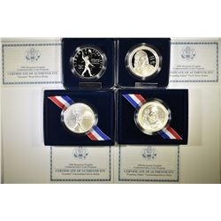 MODERN U.S. COMMEM SILVER DOLLAR LOT: