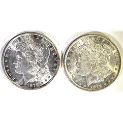 2-1879 MORGAN DOLLARS CH BU BETTER DATE
