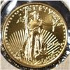 1991 1/10th OUNCE GOL AMERICAN EAGLE