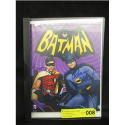 "Autographed 8"" x 10"" Batman & Robin Photo"