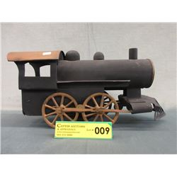Late 1800s Pressed Steel Hillclimber Train
