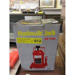 New 20 Ton Hydraulic Bottle Jack