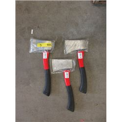 3 New 2 LB Hatchet Sets