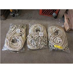 "3 Bundles of 12 - 72"" Bungee Cords"