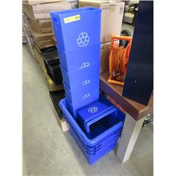11 Recycling Bins
