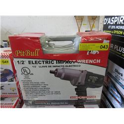 "New Pit Bull 1/2"" Drive Electric Impact Wrench"