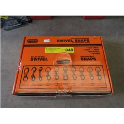 American Tool 65 Assorted Sizes Swivel Snaps