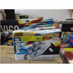 New 2000 LB Winch