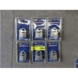6 New Pad Locks