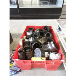 Tote of Cast Iron Fittings