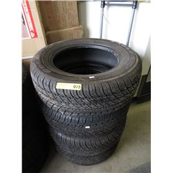 """Set of 4 Goodyear """"Eagle"""" GT M&S Tires"""
