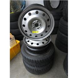 2 Nokian Tires & 4 Rims