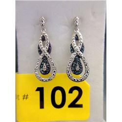 New 1/4 CT Diamond Dangle Earrings