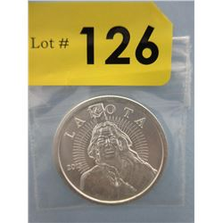 1 Oz. .999 Fine Silver 2013 Lakota/Buffalo Coin