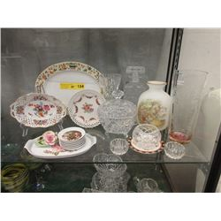 Vintage & Antique Porcelain & Crystal Lot