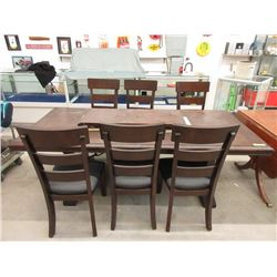 New Family Size Dining Table with 6 Chairs