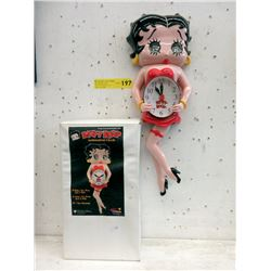 New Animated Betty Boop Wall Clock