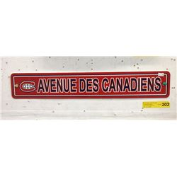 Plastic Canadiens Wall Plaque