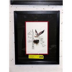 """Richard Shorty Framed Print """"Eaglets"""""""