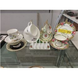 Vintage Paragon China Luncheon Set & More