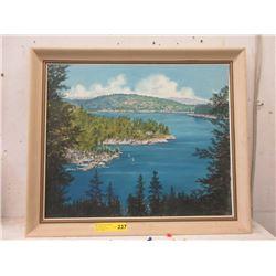 1969 Joy Simek Oil on Board Painting