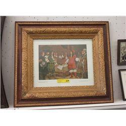 Framed Print of Vintage Hudson's Bay Event
