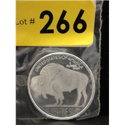 1 Ounce .999 Silver Art Round