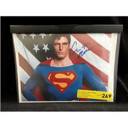 Certified 8x10 Autographed Christopher Reeve Photo
