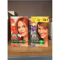 13 Boxes of Assorted Herbal Essences Hair Colour