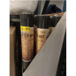 """6 New Gas Grill Splatter Mats - 30"""" x 60"""""""