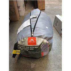 New 4 LB Sleeping Bag with Hood