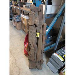 WWll Wood & Canvas Field Gear Portable Army Cot