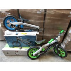 3 Toddler Bikes - Store Returns - As Is