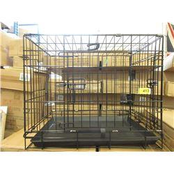 2 Small New Dog Crates - 61 x 43.3 x 50.5 cm