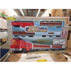 Battery Operated Rail Master Train Set
