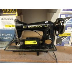 Vintage Dominion Electric Sewing Machine