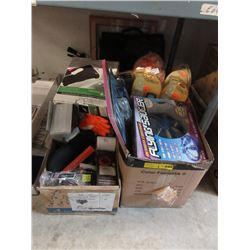 3 Boxes of Assorted New & Used Household Goods