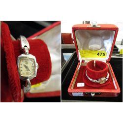 Vintage Ladies Omega Wrist Watch -10KT Gold Filled
