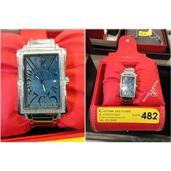 Swiss Legend Diamond Wrist Watch with Box