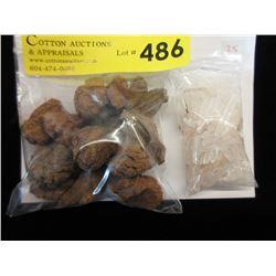 238 Grams of Coprolite & Quartz Healing Crystals