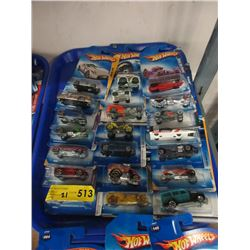 21 New Assorted Hot Wheel Vehicles