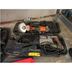 Porter Cable Tiger Saw & Electric Grinder