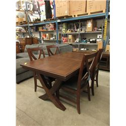 New Home Elegance 5 Piece Dining Set
