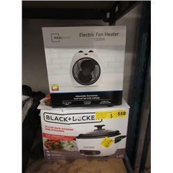 Electric Heater Fan & Rice Cooker