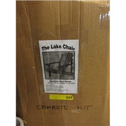 New Western Red Cedar Lake Chair