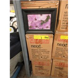 "3 Cases of 24 New 4"" x 6"" Picture Frames"