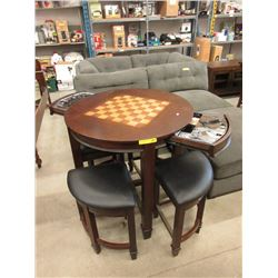 Games Table with 4 Stools